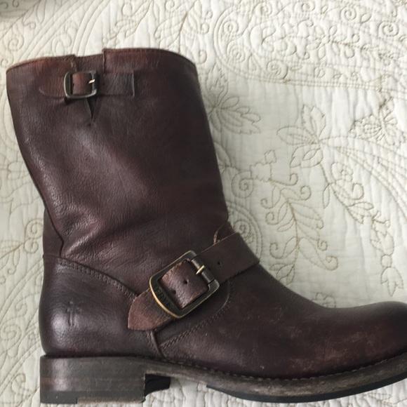 0ce07b4e574ca Frye Shoes - Frye Jenna Engineer Short boot